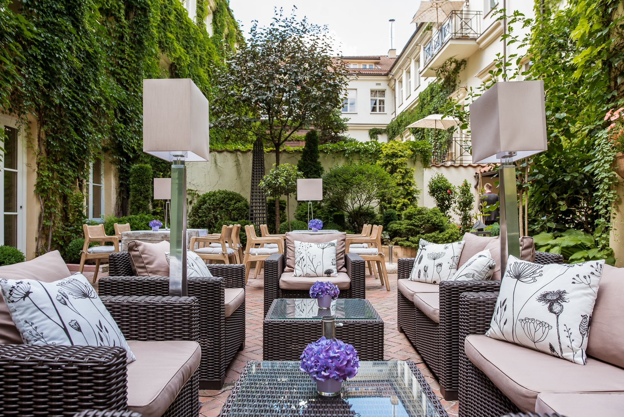 Terrace Stikliai Hotel 2